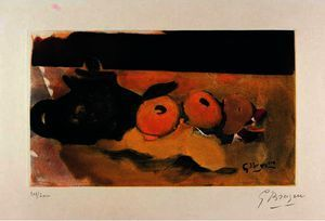 Georges Braque - The Yellow Tablecloth