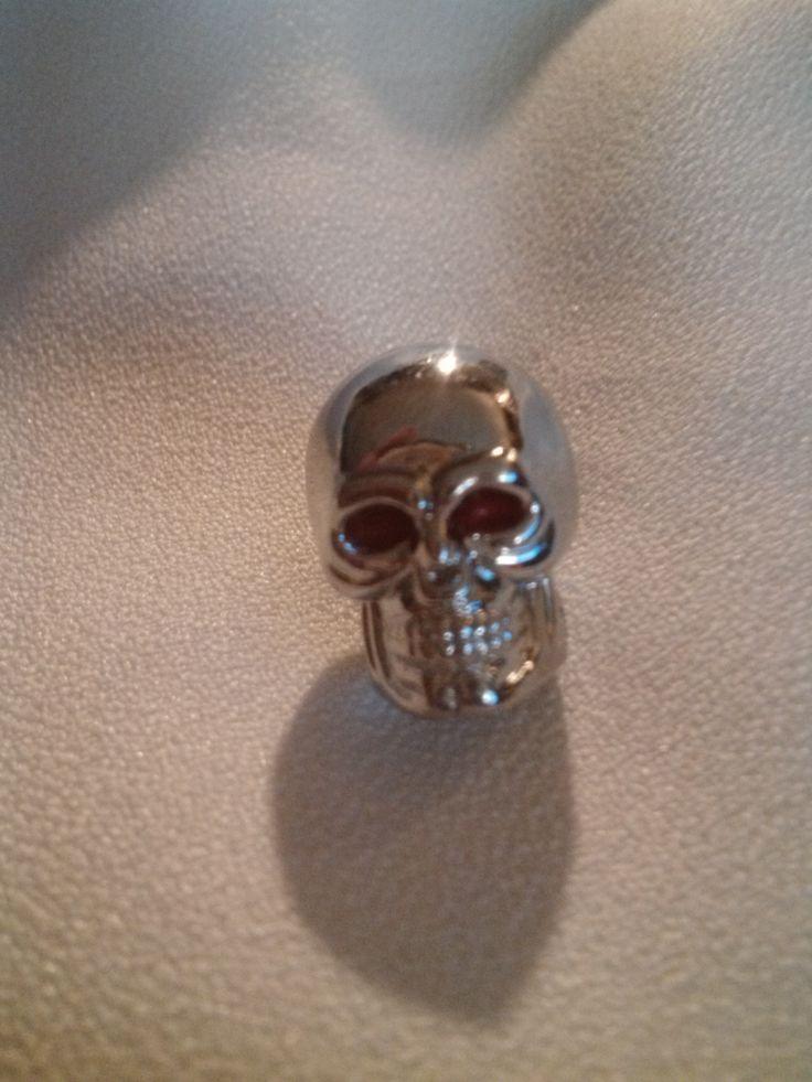 Custom Made Lightsaber Metal Chrome Skull Kill Key