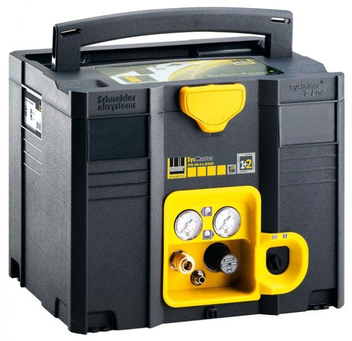 Compressor In A Systainer Workshop Storage Pinterest
