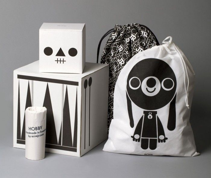 great toy packaging from Acne