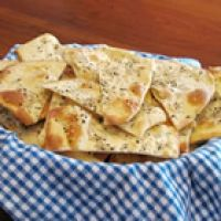 Lavosh Recipe  a simple recipe for wonderfully crisp cracker bread.