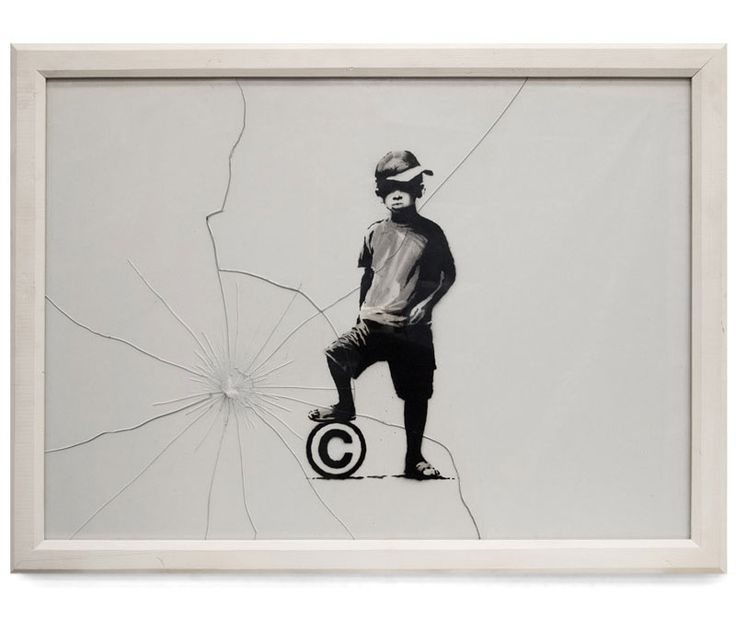 Banksy: Street Artists, Football, Street Art Utopia, Graffiti, Canvas, Banski, Banksy, Inside Work, Streetart