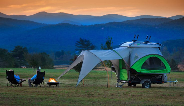 SylvanSport GO pop up campers and GO Easy ultralight trailers are made for adventure. Tow all your bikes, boats, and outdoor gear, then convert your GO into a sweet base camp!