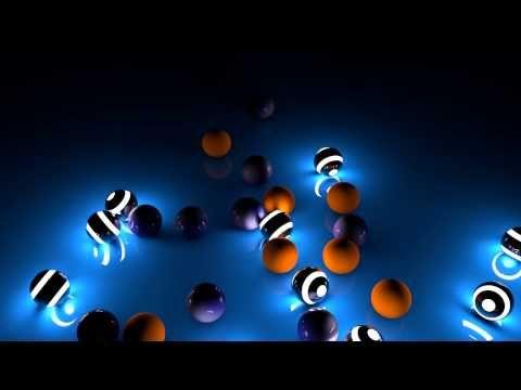 Cinema 4d Spheres Test 2 little/no flicker GI, self illumination. - YouTube