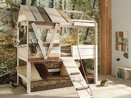 Kinderbett baumhütte  33 besten Bett Bilder auf Pinterest | Kinderzimmer, Kinderzimmer ...