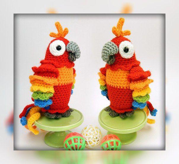18 besten Papagei Handarbeit Bilder auf Pinterest   Papageien ...