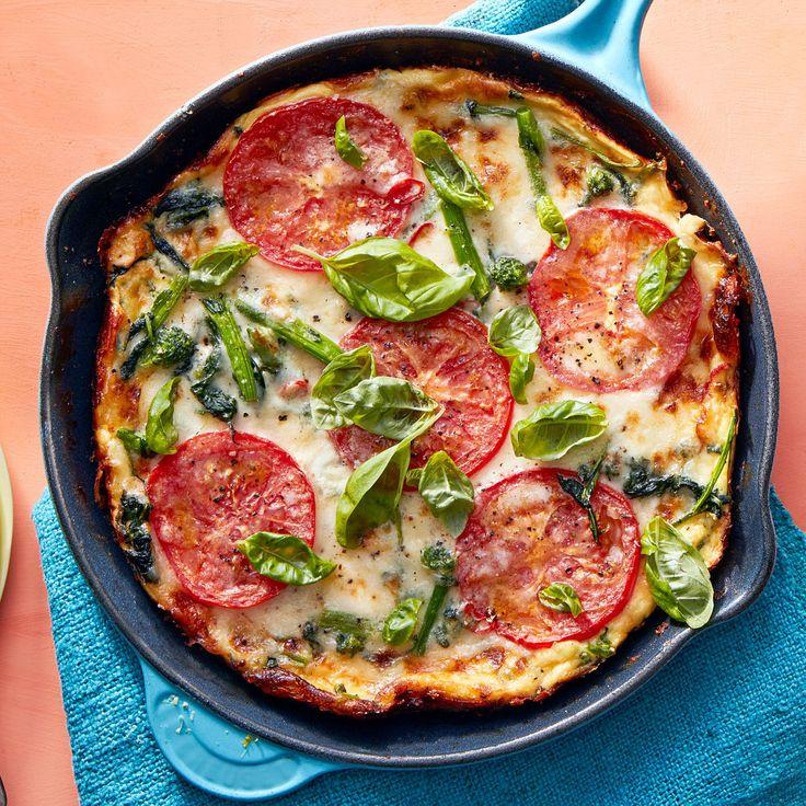 Frittata Pizza with Broccoli