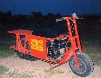 1970 pak trak track driven mini bike minicool mini. Black Bedroom Furniture Sets. Home Design Ideas