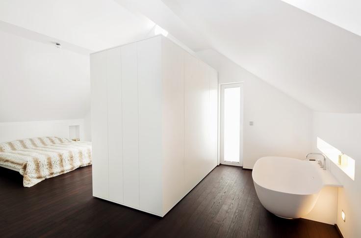 Bad im Schlafzimmer - Schlafzimmer Badezimmer Kombination
