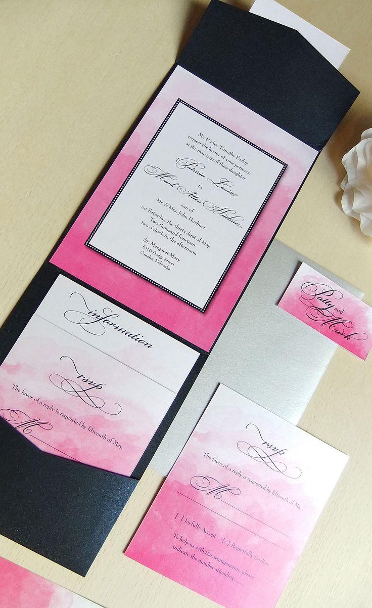 Best Fuchsia Wedding Invitations Ideas On Pinterest Fuchsia