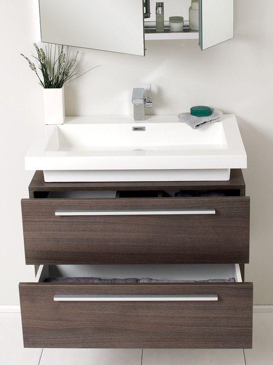 Modernes kleines Badezimmerdesign mit fantastischer schwimmender Waschtischplatte – kleine Badezimmerdesign-Fotos, kleine Badezimmerdesigns mit Dusche, moderne Badezimmerideen …