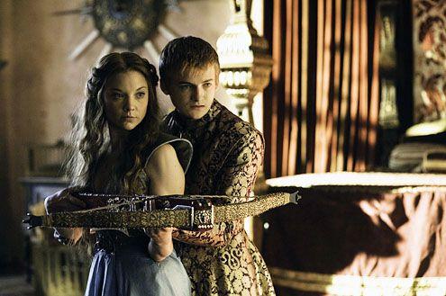 #GameOfThrones, Margaery Tyrell & Joffrey Baratheon (Natalie Dormer and Jack Gleeson)
