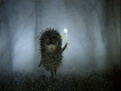 Classic Russian cartoon, Hedgehog and the Fog :)