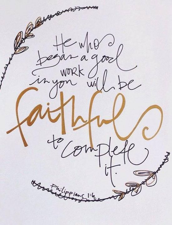"""Know therefore that the LORD your God is God; he is the faithful God keeping his covenant of love to a thousand generations."" Deuteronomy 7:9 . Can you believe that even when we are FAITHLESS God still remains FAITHFUL in us?!?!  What an amazing God we serve!   ""If we died with him we will a..."