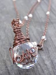 how to wire wrap crystals - Google Search