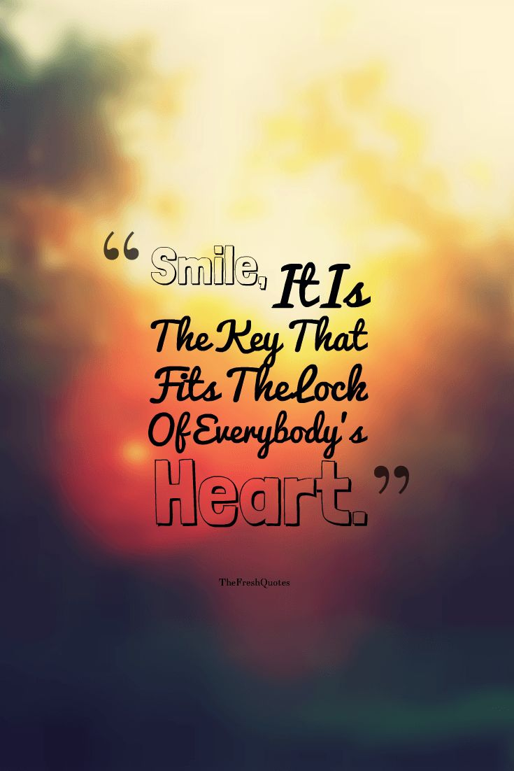 Everyone smile even if you don't want to, if u fake smile