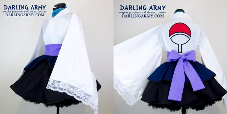 Uchiha Sasuke Shippuden Cosplay Kimono Dress by DarlingArmy.deviantart.com on @DeviantArt