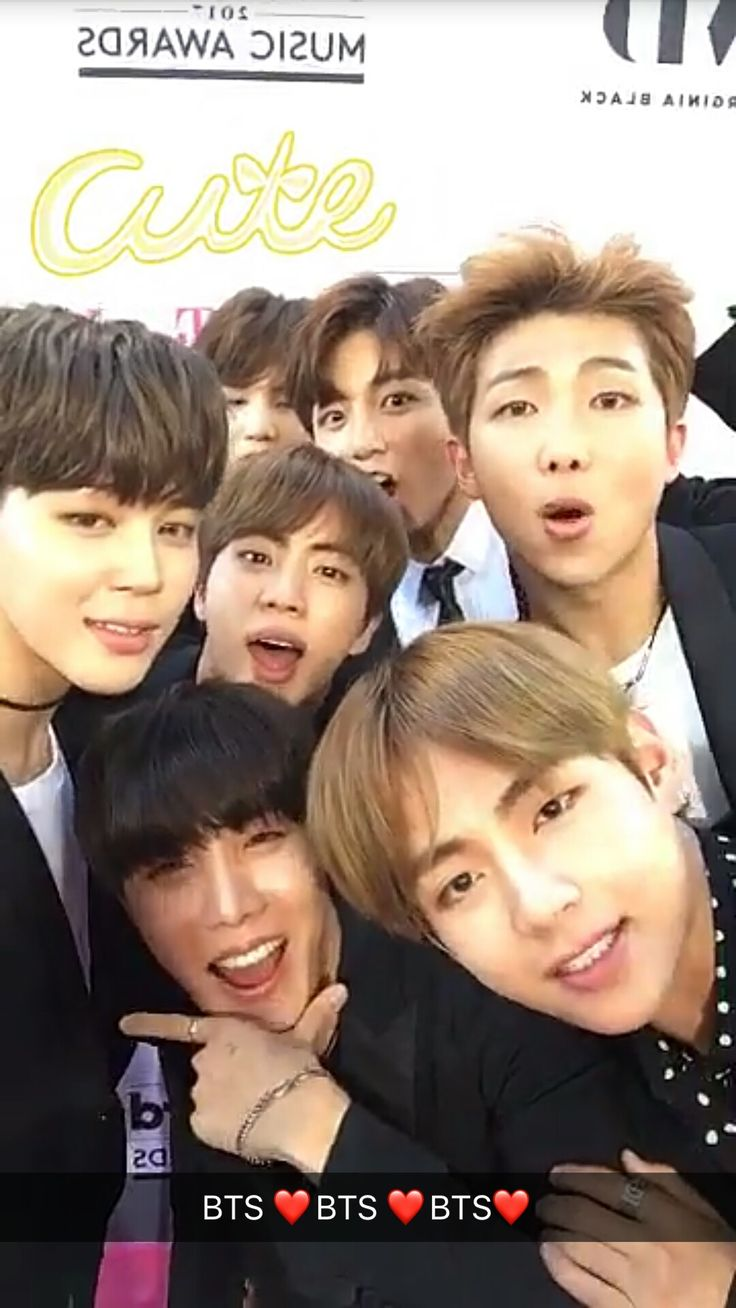 BTS at the 2017 Billboard Music Awards || aww look at suga in the back