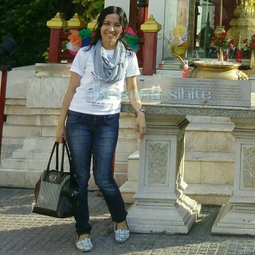 Ace goes to Bangkok! At Twin Tower Hotel, Bangkok