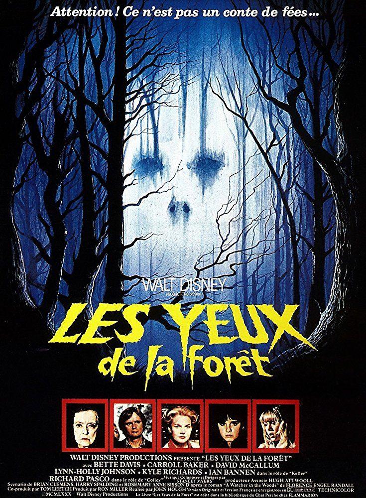 Bette Davis, Lynn-Holly Johnson, Carroll Baker, David McCallum, and Kyle Richards in The Watcher in the Woods (1980)
