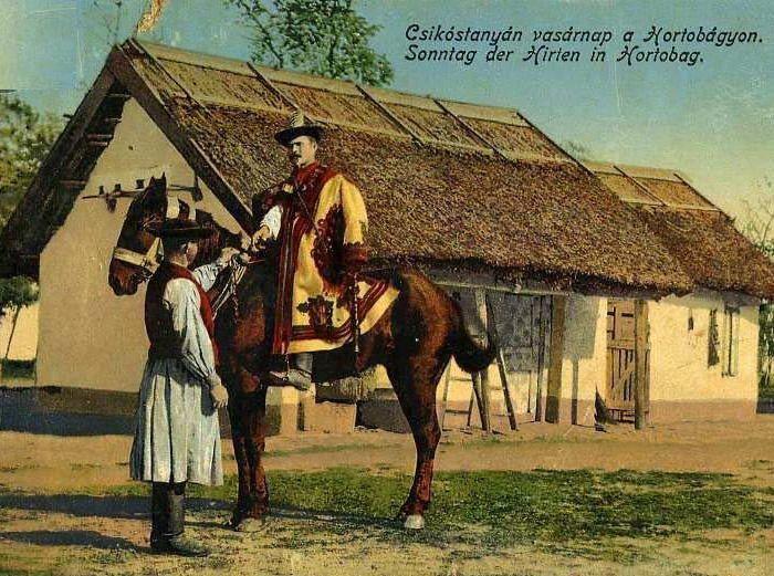 Csokóstanyán a magyar Hortobágyon