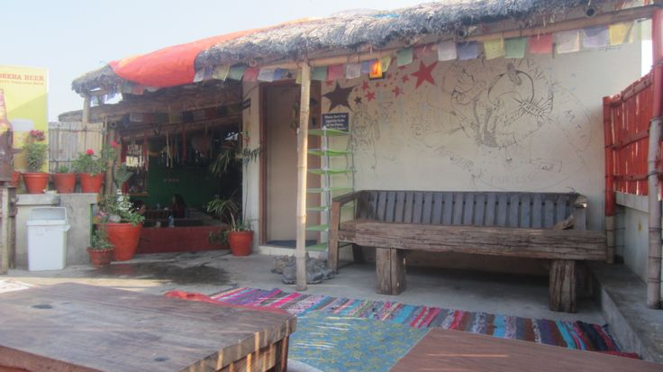 Alobar 1000. Nice hostel to start the trip. First day in Nepal