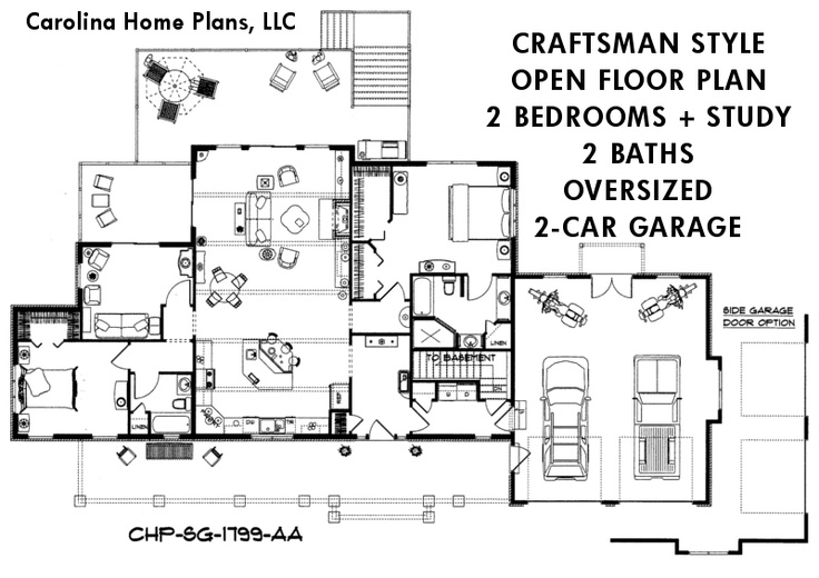 109 best images about open floor plans on pinterest for Craftsman style open floor plans