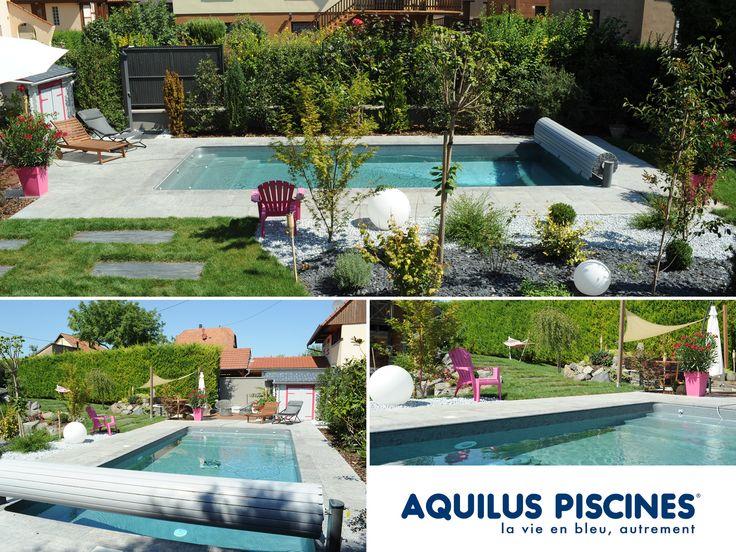 9 best piscines aquilus formes insolites images on pinterest swimming pools fit and spa. Black Bedroom Furniture Sets. Home Design Ideas