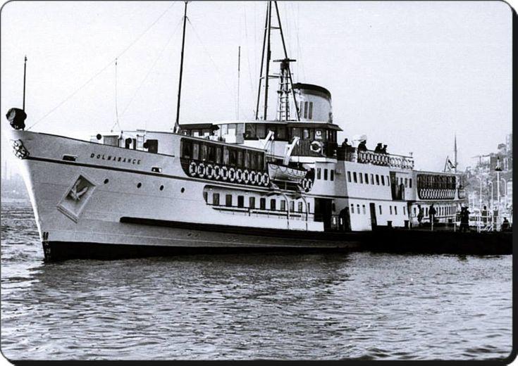 Dolmabahçe vapuru - 1960 lar  (LIFE arşivi)