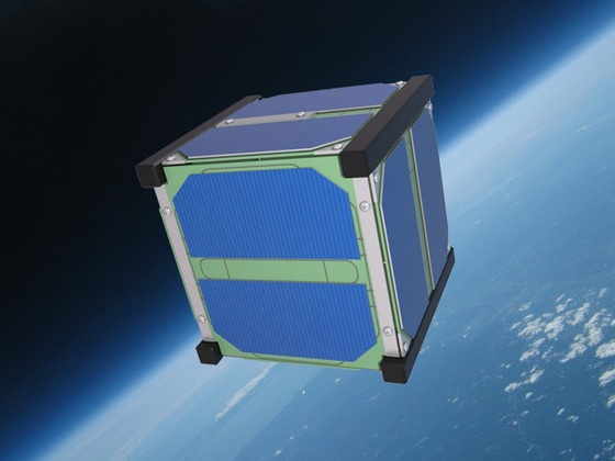 SkyCube: The First Satellite Launched by You! by Tim DeBenedictis, via Kickstarter.