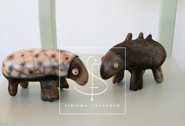 Strange Animals - Simona Frigerio   www.etsy.com/it/shop/SIMONAFRIGERIOart