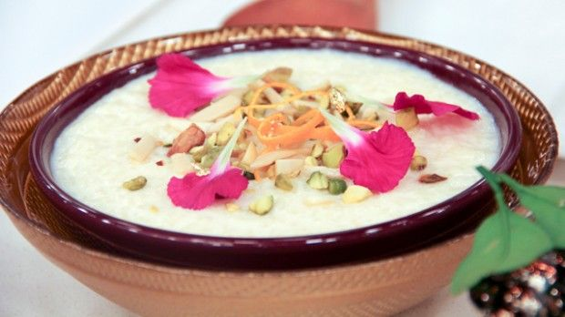 ... -scented rice pudding is using the best quality Indian basmati rice