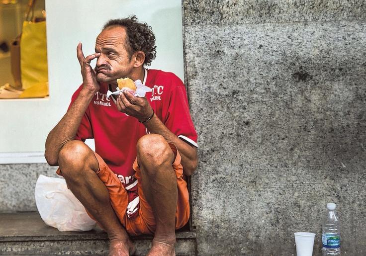 Aamupala Metrôn favelassa. Kuva: Juha Metso. | Lue: Rion faveloista on tulossa matkakohteita