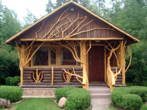 craftmanship & uniqueness!!!Guest Cottage, Tiny House, Little House, Wood Design, Guest House, Rustic Cabin, Trees House, Small House, Logs Cabin