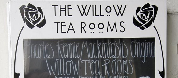 Teehäuser - Willow Tearooms