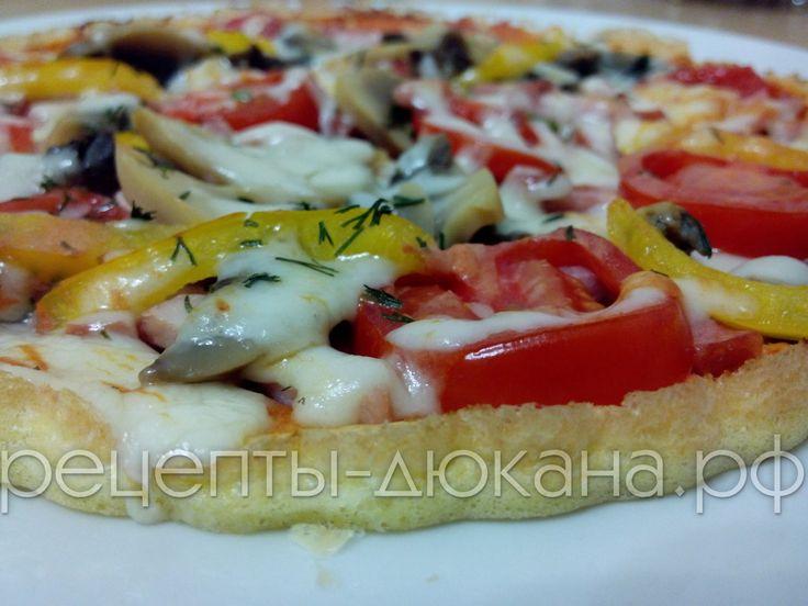 Пицца по Дюкану | Рецепты диеты Дюкан