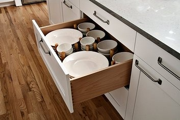 Drawer Organizers give everything a specific place.