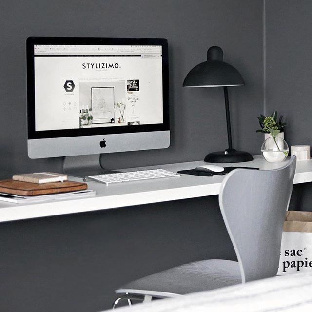 New office space up on the blog // #linkinbio #homeoffice #stylizimohouse