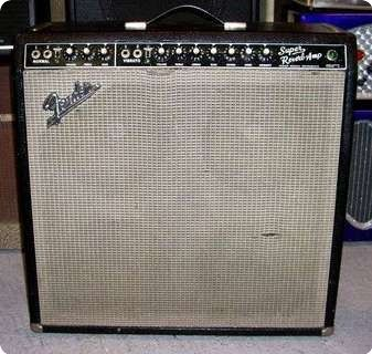 1965 Fender Super Reverb. If I ever lose my mind and decide to get an amp that weighs as much as a piano...