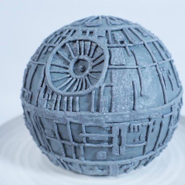 Star wars death star cake recipe
