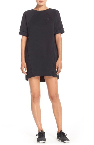 Nike Tech Fleece Dress available at #Nordstrom