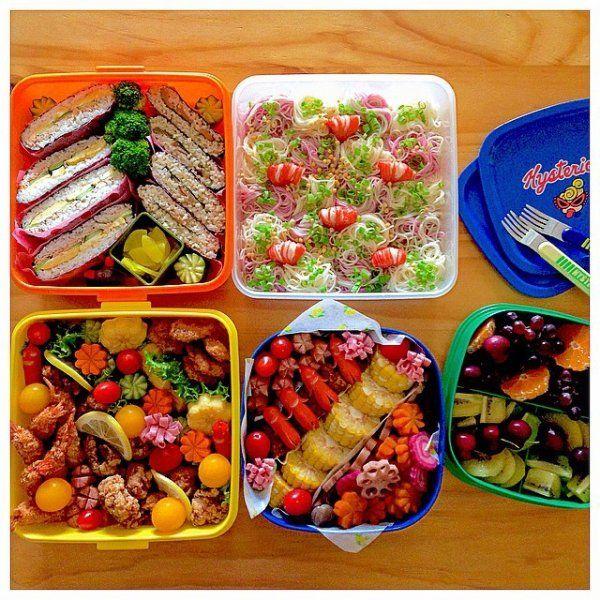 【運動会のお弁当】見せて~♡子どもが絶対喜ぶお弁当32選! | ギャザリー もっと見る