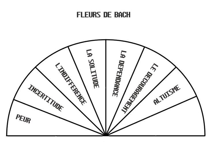 Je mets à votre disposition des cadrans pendule que j'ai créé moi même, afin de faciliter la recherche des fleurs de Bach qui vous correspondent le mieux. Le premier cadran servira de diagnostic, sachant que la personne concernée peut avoir plusieurs...
