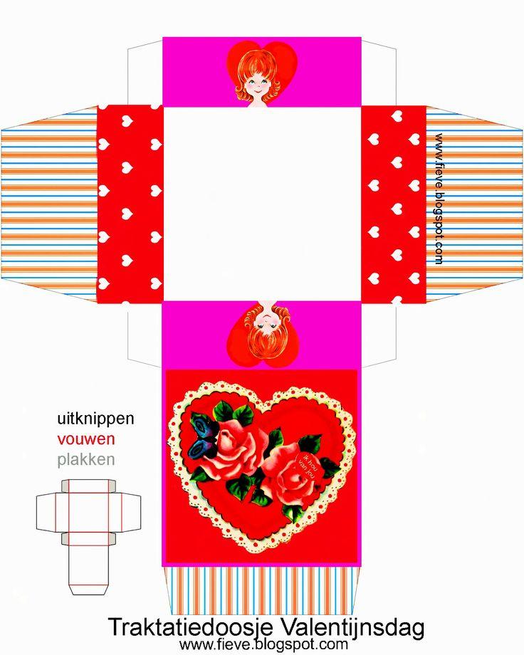 ♡Het valentijnsdag traktatiedoosje♡! - fieve