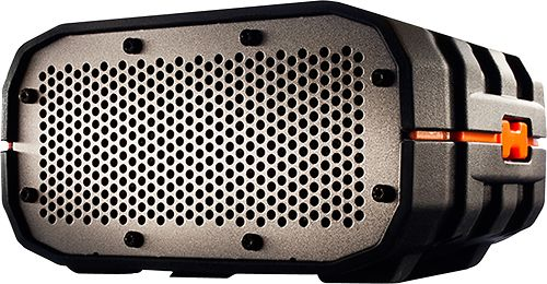 Braven - Portable Wireless Water-Resistant Bluetooth Speaker - Black/Orange/Gray
