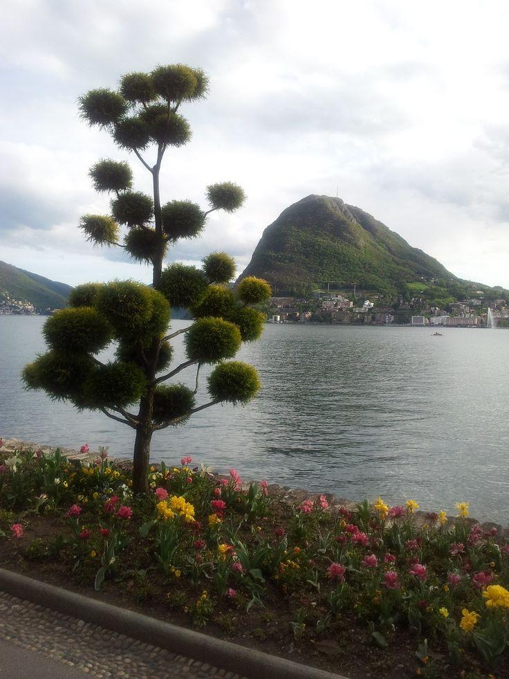 Switzerland, Lugano, Lake, Water, Nature, Landscape #switzerland, #lugano, #lake, #water, #nature, #landscape
