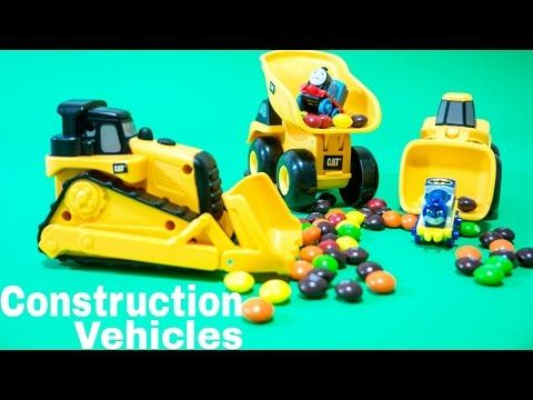 Construction Vehicles Toys Video for Kids | Thomas & Friends Train Toys  - YouTube
