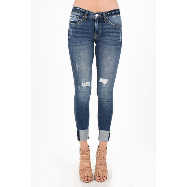 Best 25  Cuffed skinny jeans ideas only on Pinterest   Nautical ...