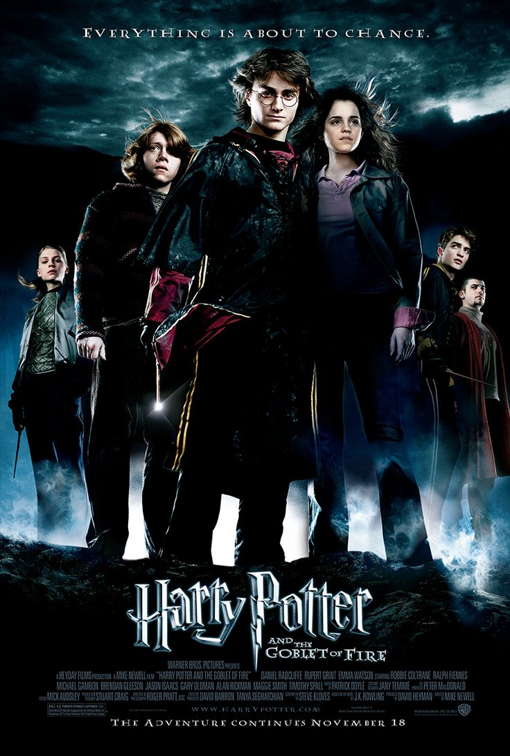 Harry Potter and the Goblet of Fire, 2005. #HarryPotter