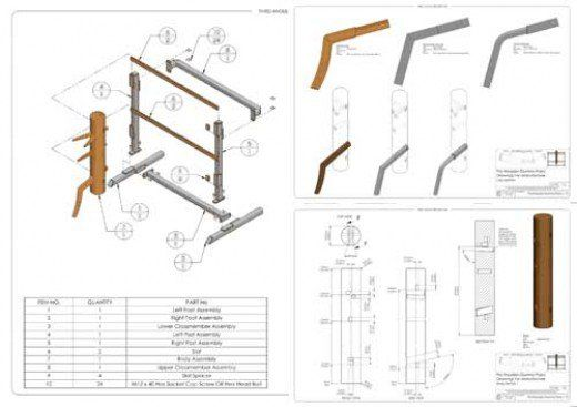 Example of paid wooden dummy plans available.